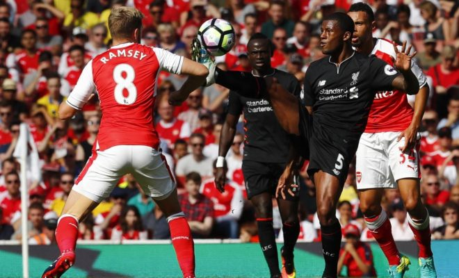 Arsenal 3 - 3 Liverpool - Match Report