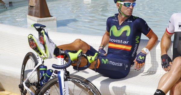 Vuelta Spagna 2015 - 70a Edizione - 4a tappa Estepona - Vejer de la Frontera 209.6 km - 25/08/2015 - Alejandro Valverde (Movistar) - foto Luca Bettini/BettiniPhoto©2015
