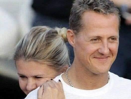 Michael Schumacher et sa femme Corinna Betsch.